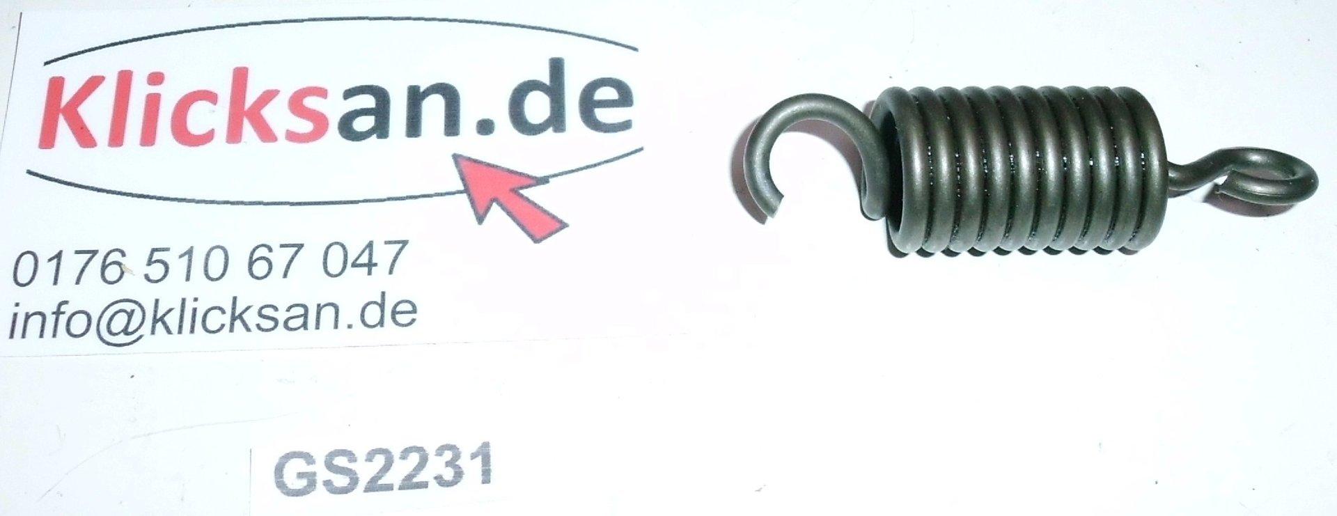 hatz diesel e85 g ersatzteile feder 03430700 gs2231. Black Bedroom Furniture Sets. Home Design Ideas